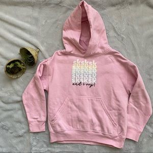 VSCO girl hoodie youth small